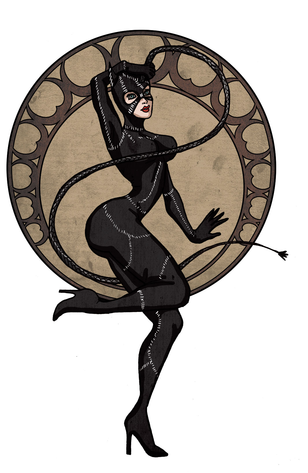 Catwoman by LaTaupinette
