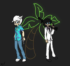 Lincoln and Clyde (TLH/VC Crossover) by LinkAssault