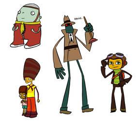 Psychonauts doodles by Pookie776