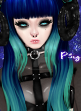 Nebula Premade ** SOLD ** by XPsychoBarbieX