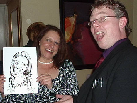 Caricatures in 3 minutes!