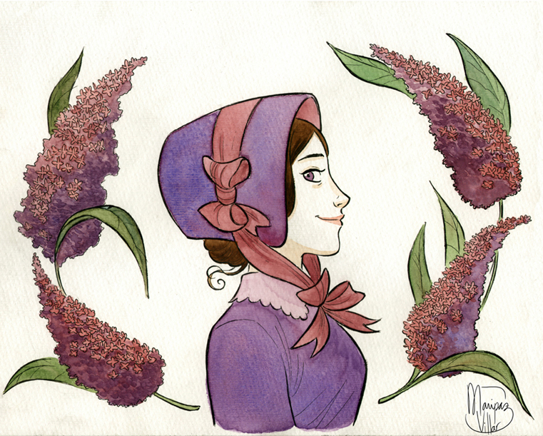 Violeta by MaripazVillar