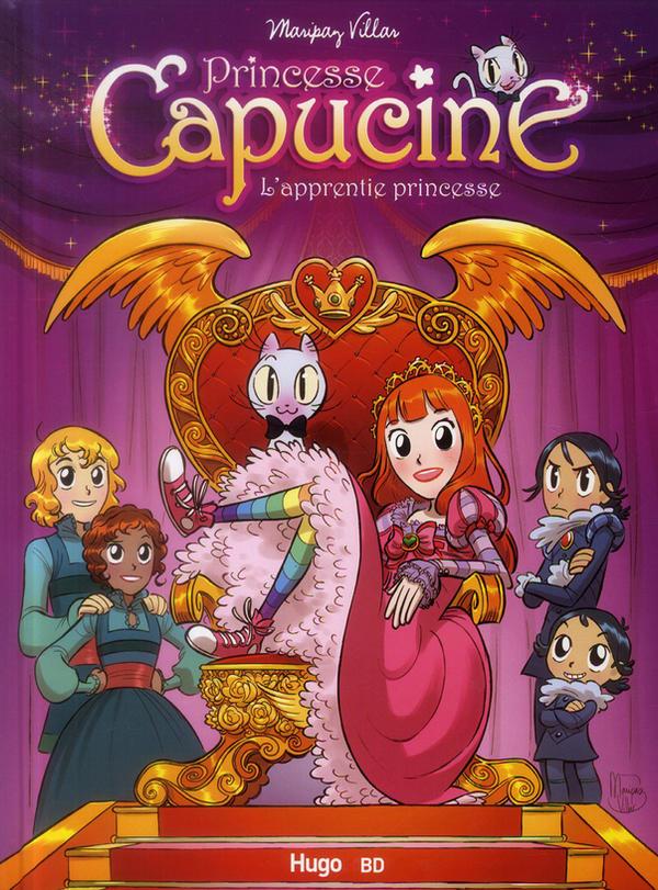 Princesse Capucine-cover by MaripazVillar