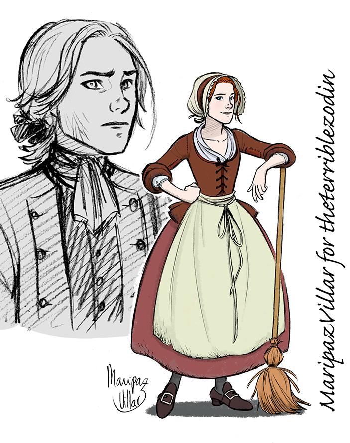 Katy Haynes (Commission) by MaripazVillar