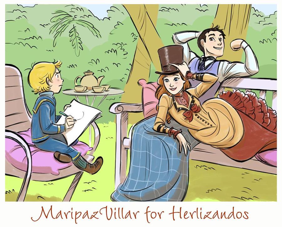 Bellino is not amused (art trade) by MaripazVillar
