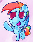 Rainbows and Dashing!