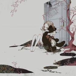 front of the DOOR by bikobure