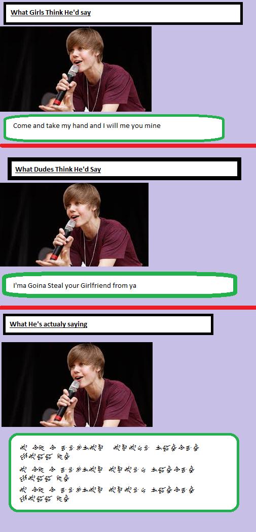 Bieber meme by Terra-Nova1125