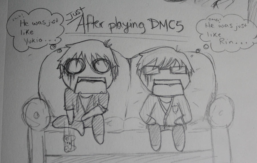 Rin x yukio rin and yukio play dmc by