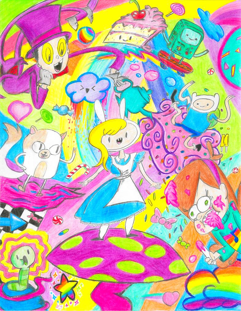 Fionna In Wonderland by LennyCarl1234