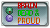 Brain Dead Pride Stamp by Yggdrisall-Blue