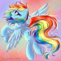 Rainbow Dash by ChaosAngelDesu