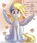 Derpy and muffins