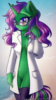 Cute Scientist by ChaosAngelDesu