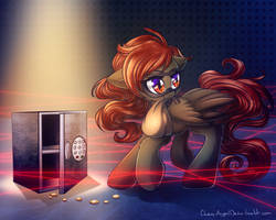 Commission - Thief by ChaosAngelDesu