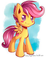 Scootaloo by ChaosAngelDesu
