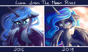 Luna from The Moon Rises redraw
