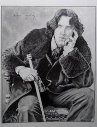 Oscar Wilde by Tepelus