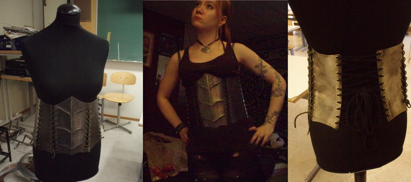 Metal corset by Bloody-Valentine666