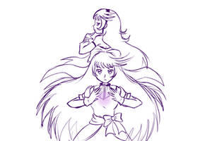 Sayaka's Art Trade sketch