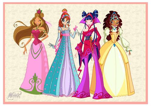 Winx Club Dress Up by WinxClubFanArt