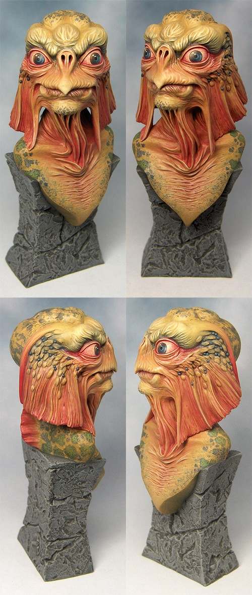 Sea Devil Bust by spr0ket