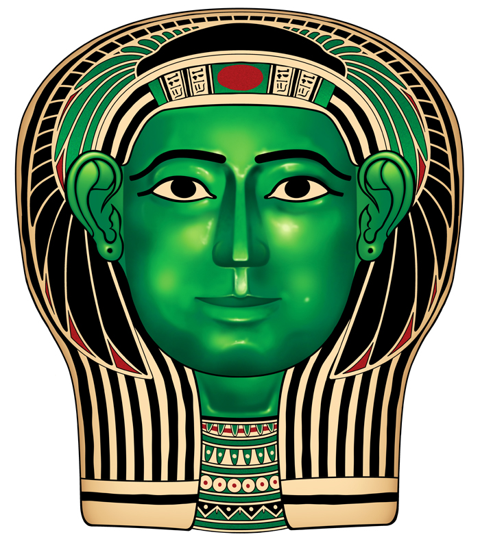 Egyptian mask by spr0ket on deviantart for Egyptian masks templates