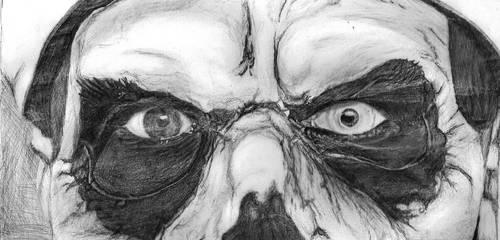 Papa Emeritus II (eyes) by krazybijoux