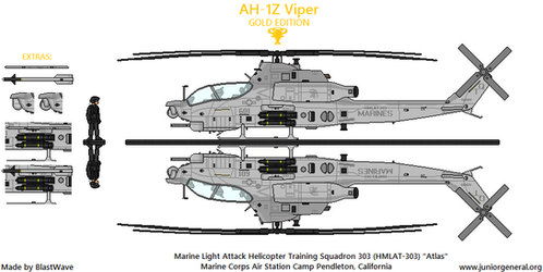 AH-1Z Viper by BlastWaves