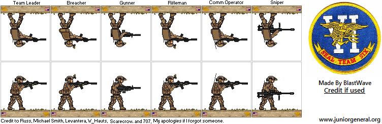 SEAL Team Six Operators by BlastWaves