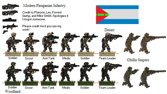 Paraganian Infantry By Blastwaves On Deviantart