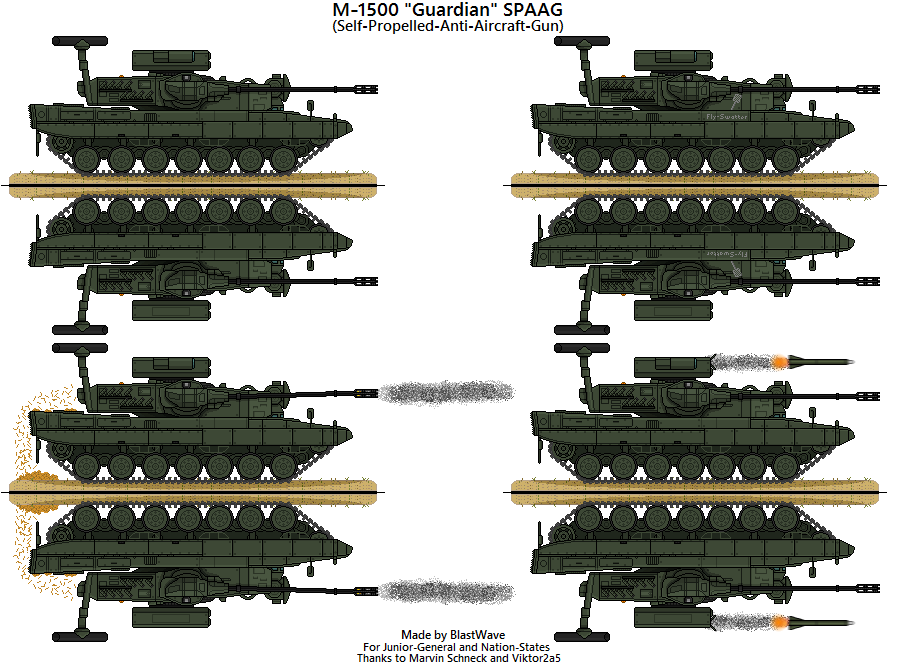 M-1500 Guardian SPAAG by BlastWaves