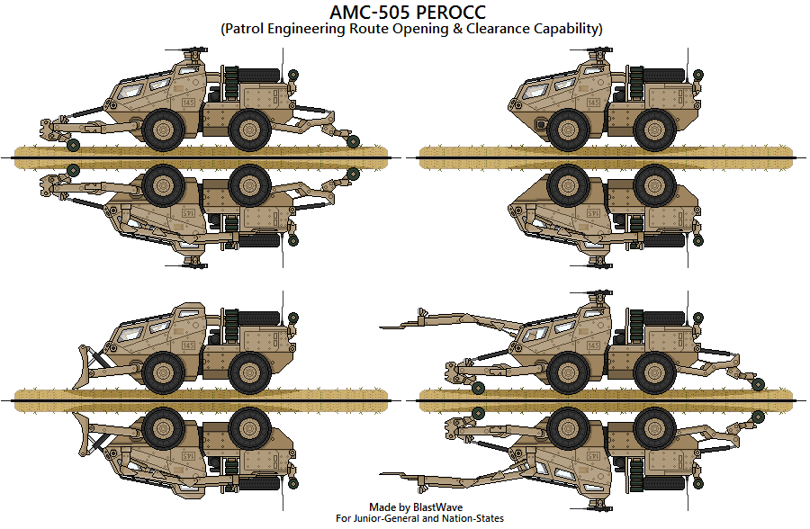 AMC-505 PEROCC by BlastWaves