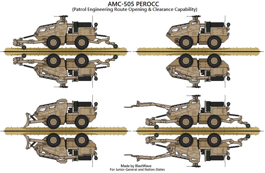 AMC-505 PEROCC by BlastWaves