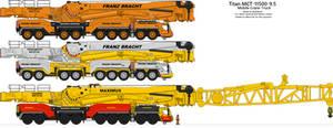 Titan MCT-11500-9.5 Mobile Crane Truck by BlastWaves
