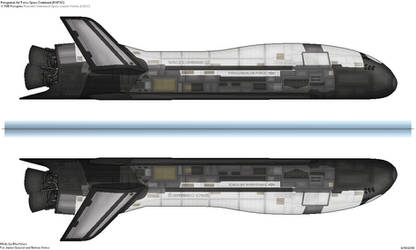X-70B Peregine Reusable Unmanned Space Vehicle