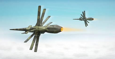 Breaking Formation by BlastWaves