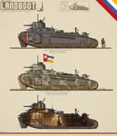Mark 1 Landboot Heavy Tank