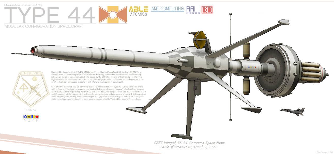 Type 44 Modular Space Warship