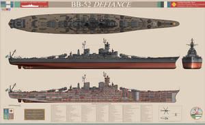 Defiance-class Heavy Battleship
