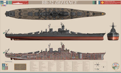 Defiance-class Heavy Battleship by BlastWaves