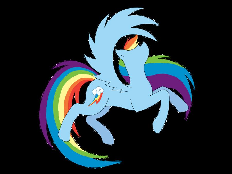 Rainbow Dash v1 by TerminalGlow