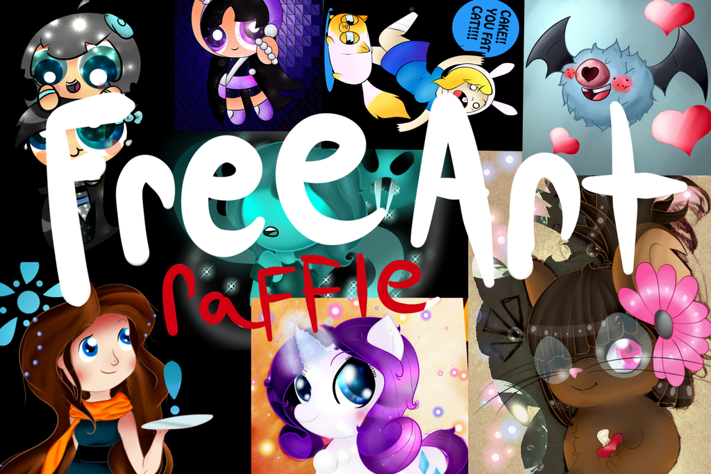 FREE ART RAFFLE!! Closed// by Syico