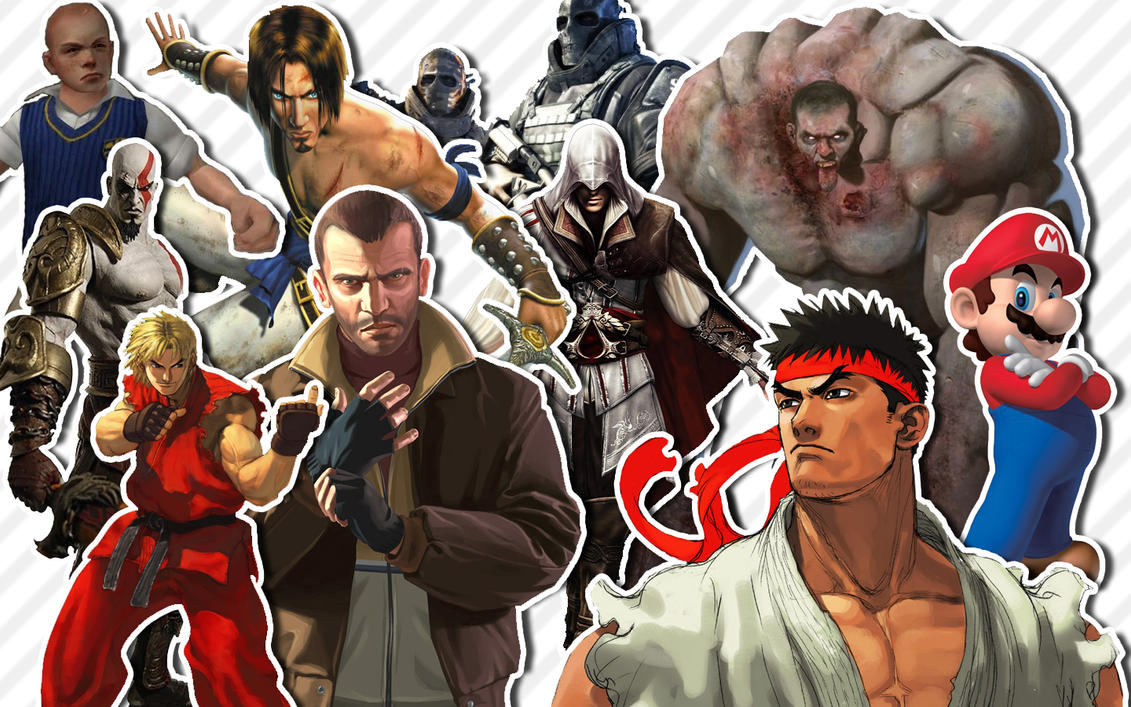 Video Game Characters by caio1 on DeviantArt Video Game Characters