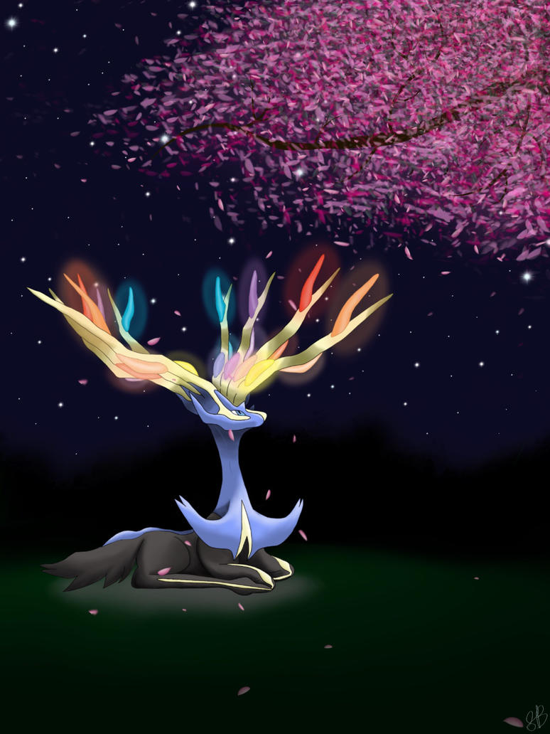 Nocturnal Xerneas by SVValentine
