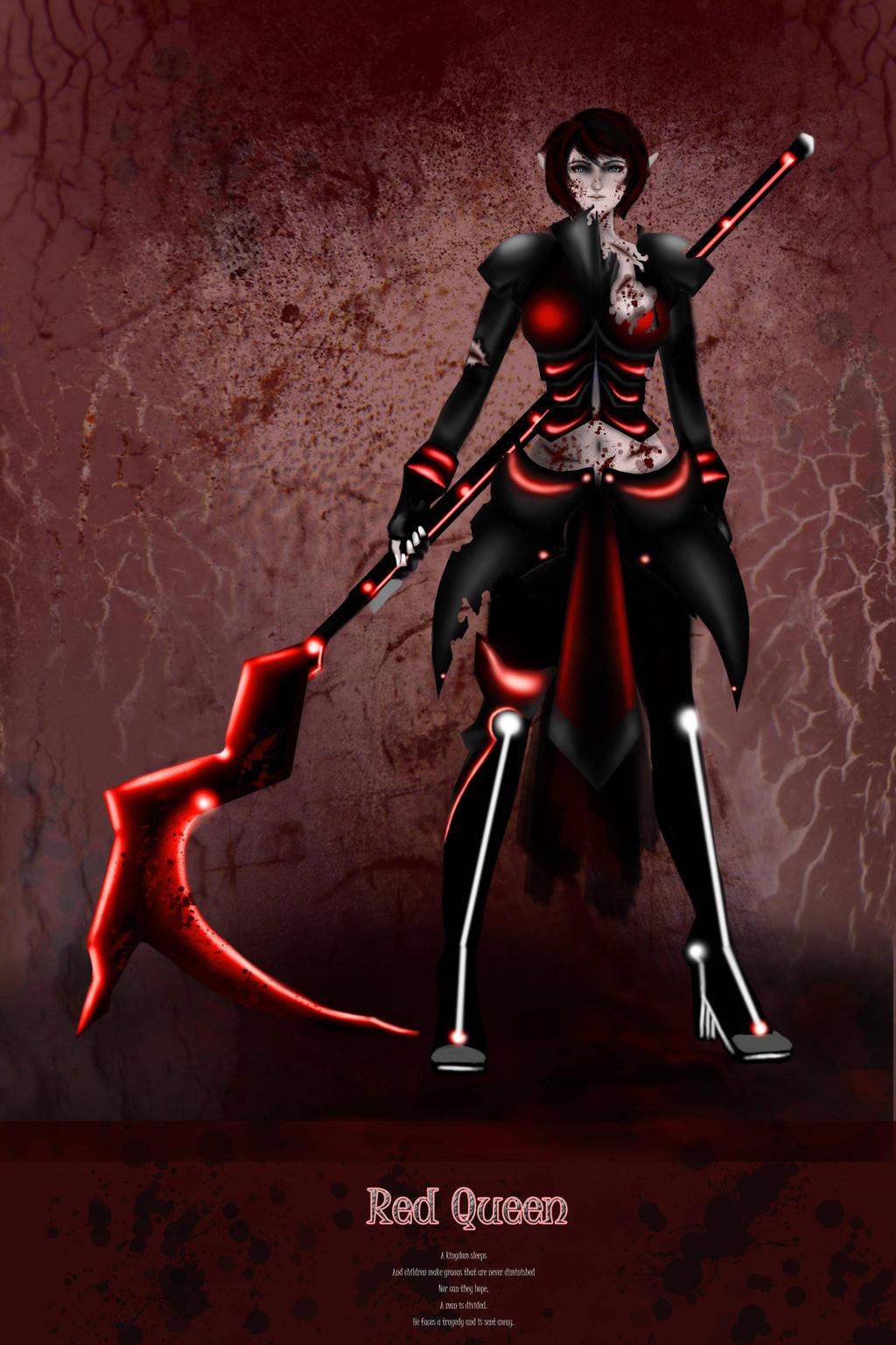 Kerria (Red queen) by queen821214