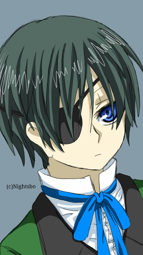 Ciel Phantomhive  by Nightsbo