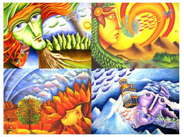 The Seasons by KingVahagn