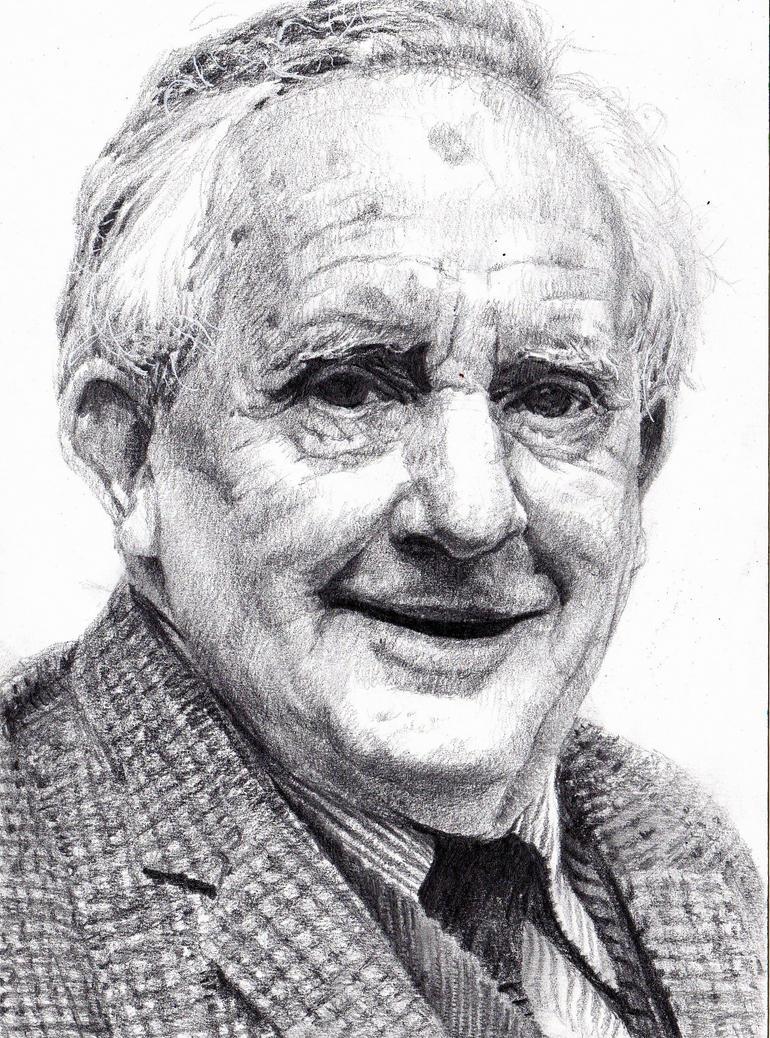 J.R.R. Tolkien by KingVahagn