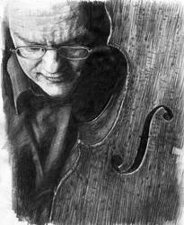 Cellist Jaap ter Linden by KingVahagn